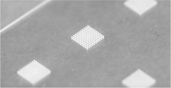 flow cell microneedles